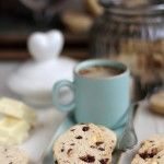 Biscuiti cu faina de orez si ciocolata