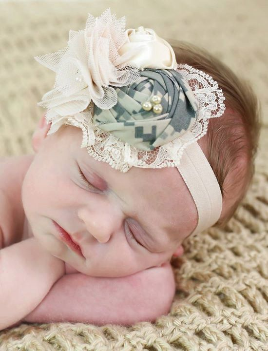 Military Inspired Headband is made from ABU fabric, ACU fabric, NWU fabric, or MCCU fabric.