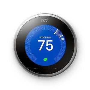 Nest Learning Thermostat, 3rd Generation, Works with Alexa + free shipping