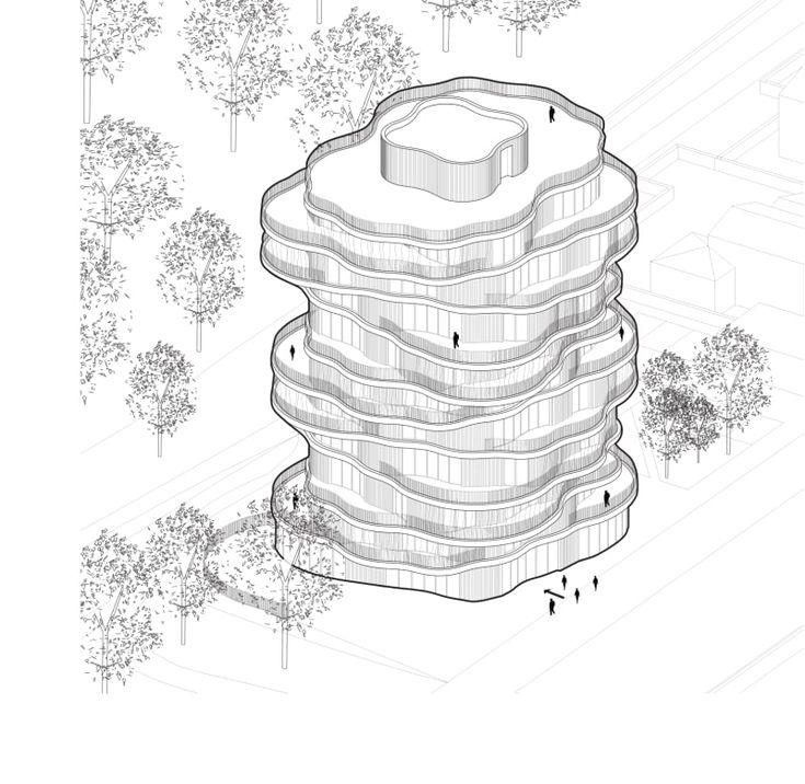 Farshid Moussavi Architecture, Paul Phung · Folie Divine