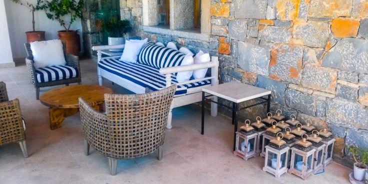 #Terrasse des 5* Hotels St. Nicolas Bay in #Agios #Nicolaos © Petra Kulterer