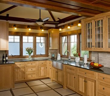 Knotty Pine Kitchen Cabinets Design Ideas, Pictures, Remodel, and Decor - page 3