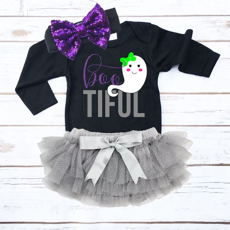 *NOTE: The bloomers and headband are optional. The leggings are NOT included, click the link below to add the leggings. The default option includes the onesie, diaper cover, and headband. - Made of 65