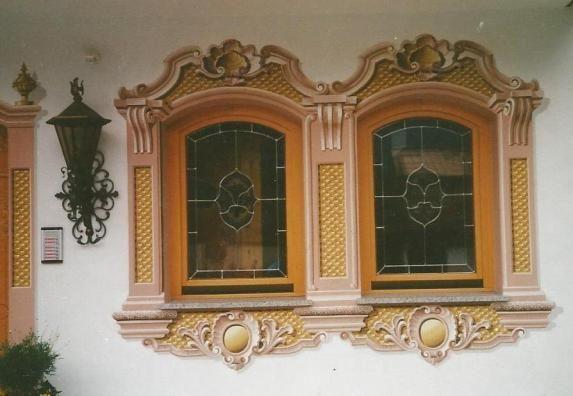 Lüftlmalerei Fenster