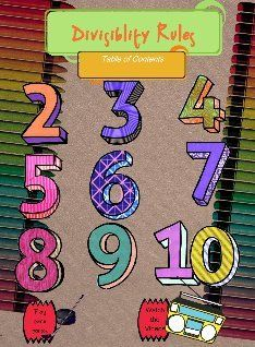 """Fun way to learn divisibility rules. Go to the bottom of the page to click onto """"watch videos"""" or to play games!"""