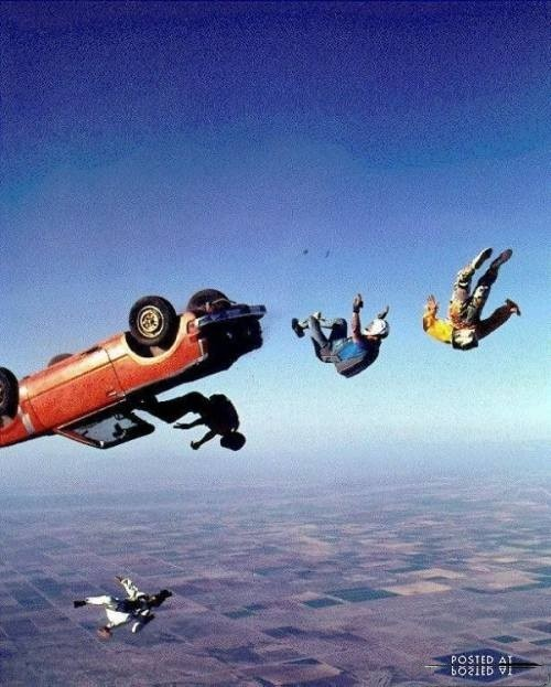 Extreme funny worlds funniest pictures of crazy skydiving. Totally awesome!