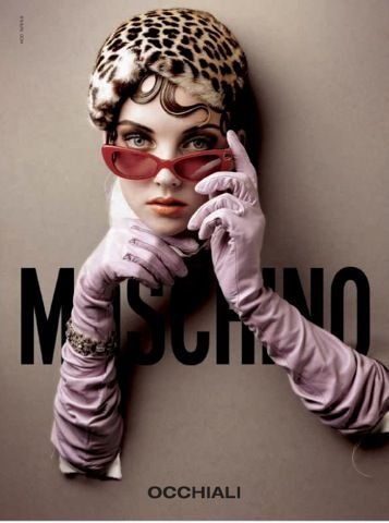 occhiali Moschino,pinned by Ton van der Veer