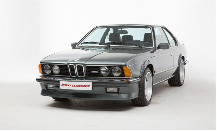 1987 BMW E24 M6