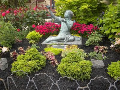Memorial Garden Ideas best memorial rocks for garden memorial rocks for garden alices garden Memorial Garden Ideas Betty Powell Memorial Garden Designed And Maintained The Property