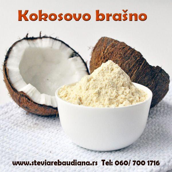 Odlike Almitas kokosovog brašna su to, da je bogato vlaknima, mineralima, proteinima i vitaminima, i da je napravljeno od čistog mesa kokosa – bez hemikalija. . Zbog niskog sadržaja ugljenih hidrata, savršeno se uklapa u dijetalnu ishranu.  Posetite našu web stranicu i pogledajte sve proizvode od kokosa u ponudi (kokosovo ulje, sirće, krema...) http://steviarebaudiana.rs/webshop/termekek