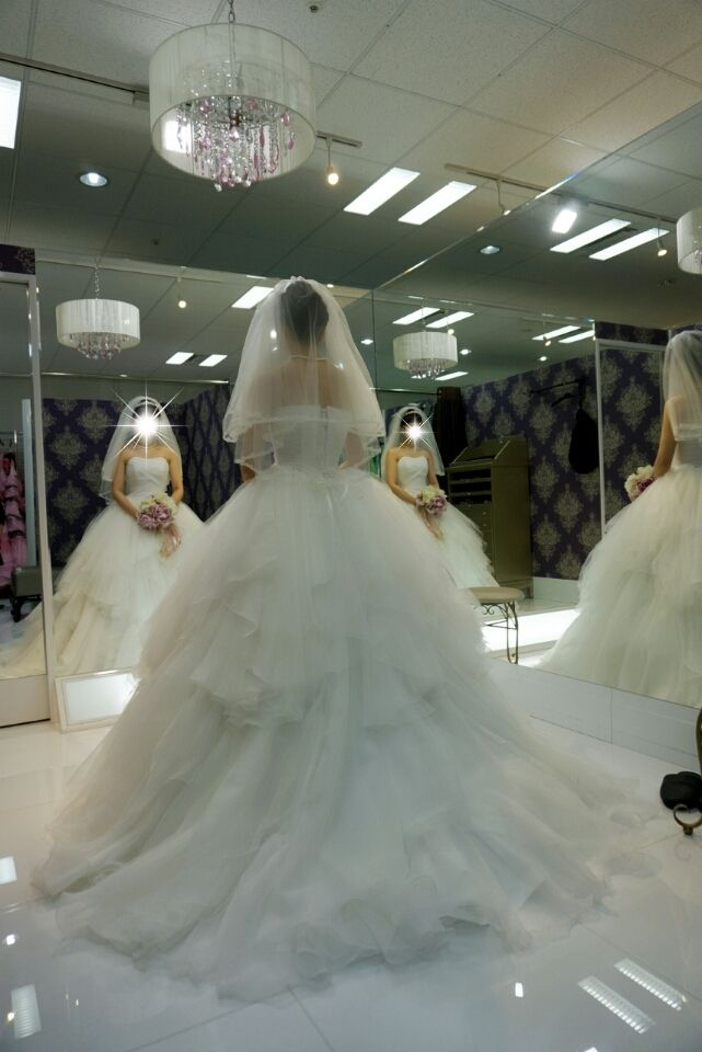 【ドレス試着】FOUR SIS & Co.③ |aki'wedding blog*
