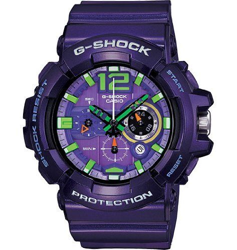 Casio Men Watches : Casio G-SHOCK Big Case Series GAC-110-6ACR Purple Men's Watch