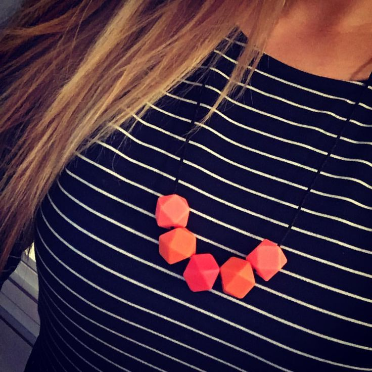 Some new colors! #red & #orange  soon available at https://www.etsy.com/shop/ByPinja #imetyskoru #imetys #koru #kantokoru #kaulakoru #kantoliinailu #babyshower #babywearing #necklace #nursingnecklace #newmom #baby #äiti #mommy #mommystyle #jewelry #jewellery #style #finnish #vauva #vauva2015 #gift #babyshowergift #etsy