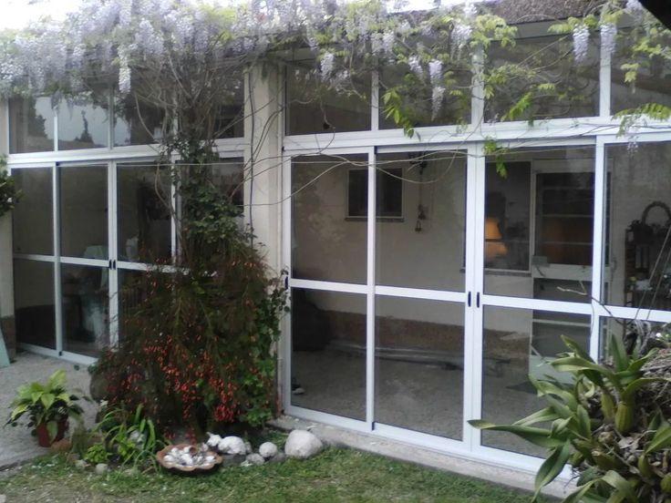 17 mejores ideas sobre cerramientos de aluminio en - Cerramientos plegables de vidrio ...