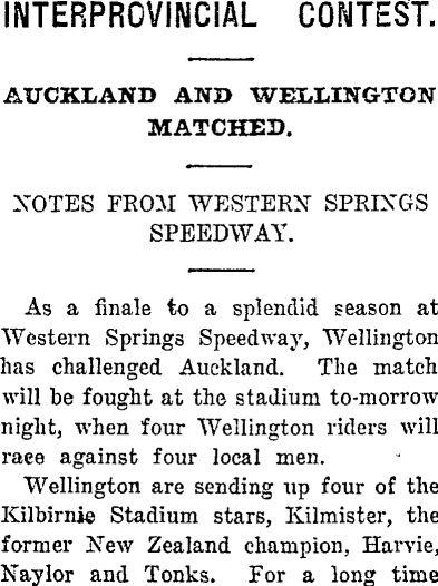 1930 Speedway