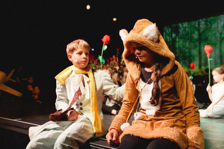 """Antoine de Saint-Exupéry: """"Der kleine Prinz"""", Kinderoper vom 16.-18. Juni 2017 im Theater der Jungen Welt Leipzig; Foto: Grit Hartung   fotostoff.de"""