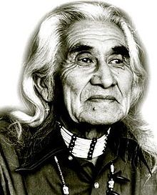 Chief Dan George, OC (July 24, 1899–September 23, 1981) was a chief of the Tsleil-Waututh Nation, a Coast Salish band located on Burrard Inlet in North Vancouver, British Columbia, Canada. He was also an author, poet, and an Academy Award-nominated actor.  ~~ ok, not American :)