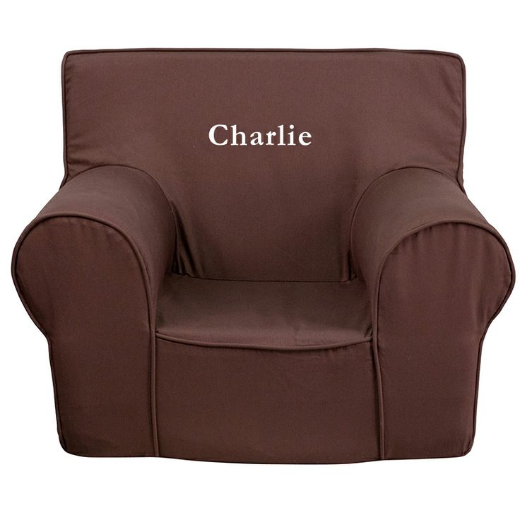 Charlie Brown Kids Foam Chair With Personalization Included!