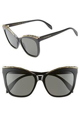 e80676e4066e ALEXANDER MCQUEEN Designer 55mm Cat Eye Sunglasses Sunglasses Accessories, Women  Accessories, Designer Clothing,