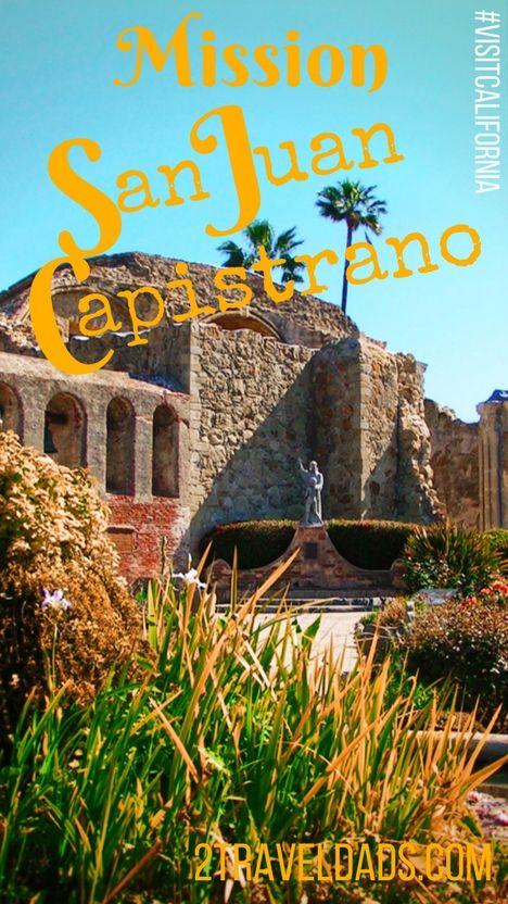 Mission San Juan Capistrano Is A Beautiful Historic Site Along Californiau0027s  El Camino Real, Easy