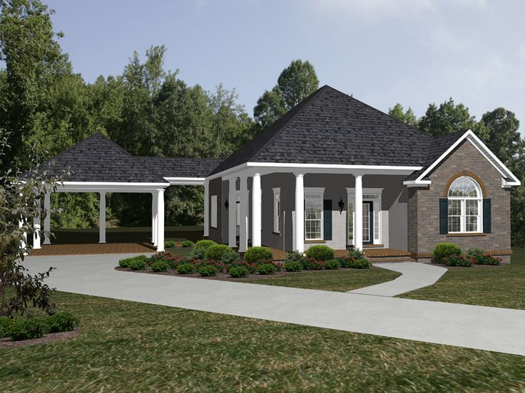 61 best images about houses on pinterest southern living for Southern living detached garage plans