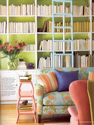 love the book shelf and ladder