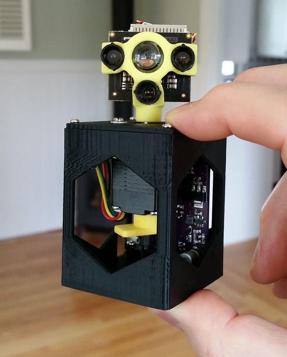 Rhoeby dynamics low cost lidar hexapod robot arduino