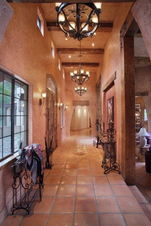 Tena spanish villa esque entry for the home pinterest for Southwestern flooring
