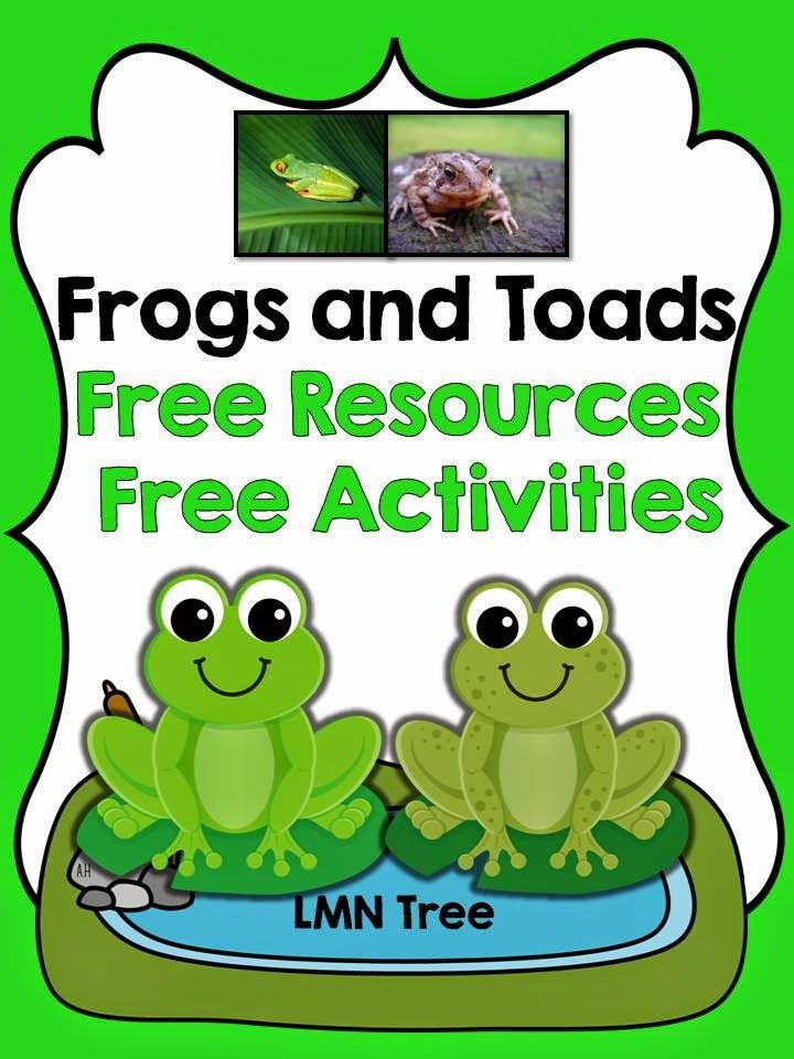 LMN Tree: Frogs and Toads: Free Resources and Activities