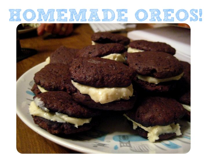 MAKE YOUR OWN OREOS. » Rough Draft Farmstead.