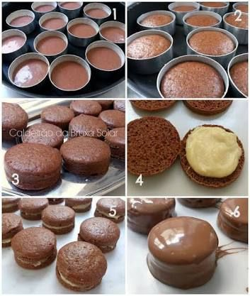 37 best food images on pinterest beverage meals and brazilian recipes chocolate coated little cakes with filling fandeluxe Image collections