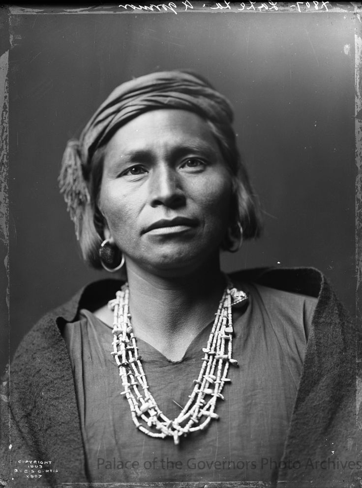 La Le La, Governor of Zuni Pueblo, New Mexico Photographer: Edward S. Curtis Date: 1903 Negative Number 143711