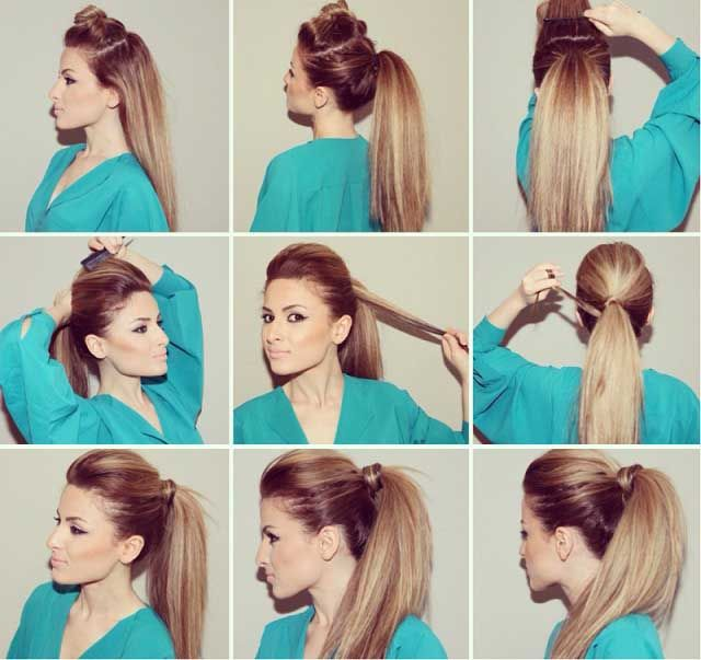 hair up do styles 25 best bumped ponytail ideas on bump hair 6597