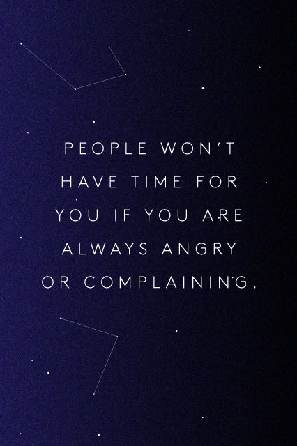 People won't have time for you if you are always…