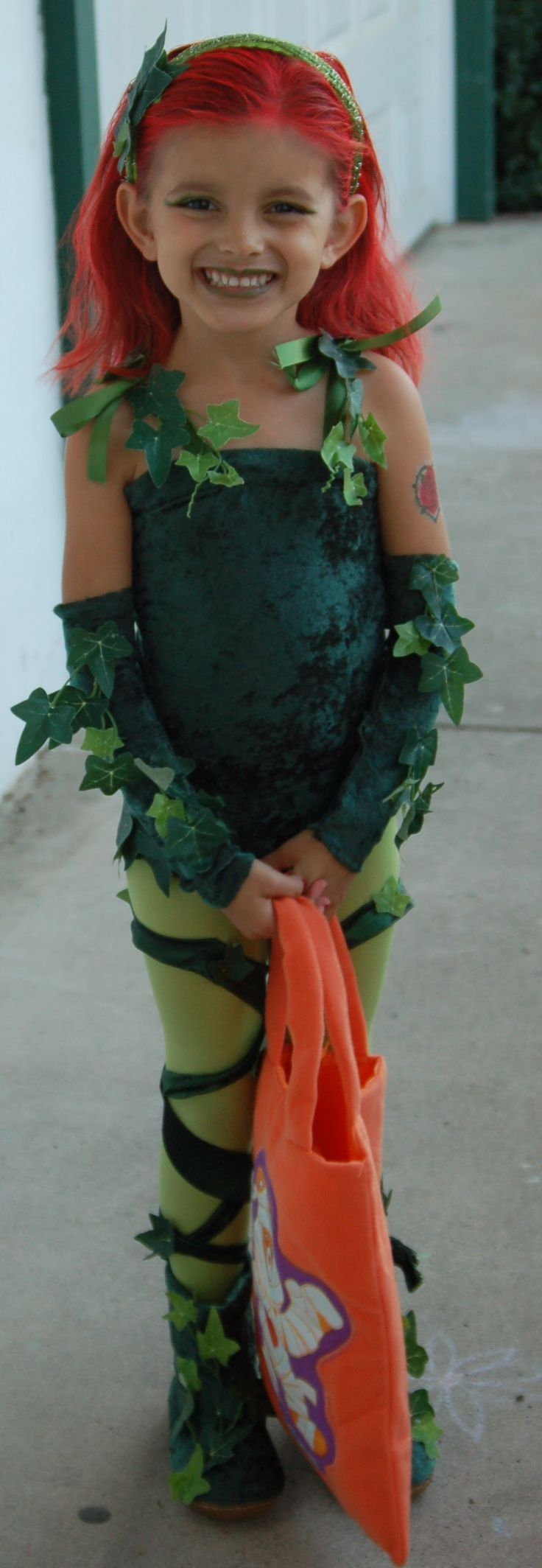 Poison Ivy CostumePoison Ivy Costume Kids, Poison Ivy Costumes Girls ...