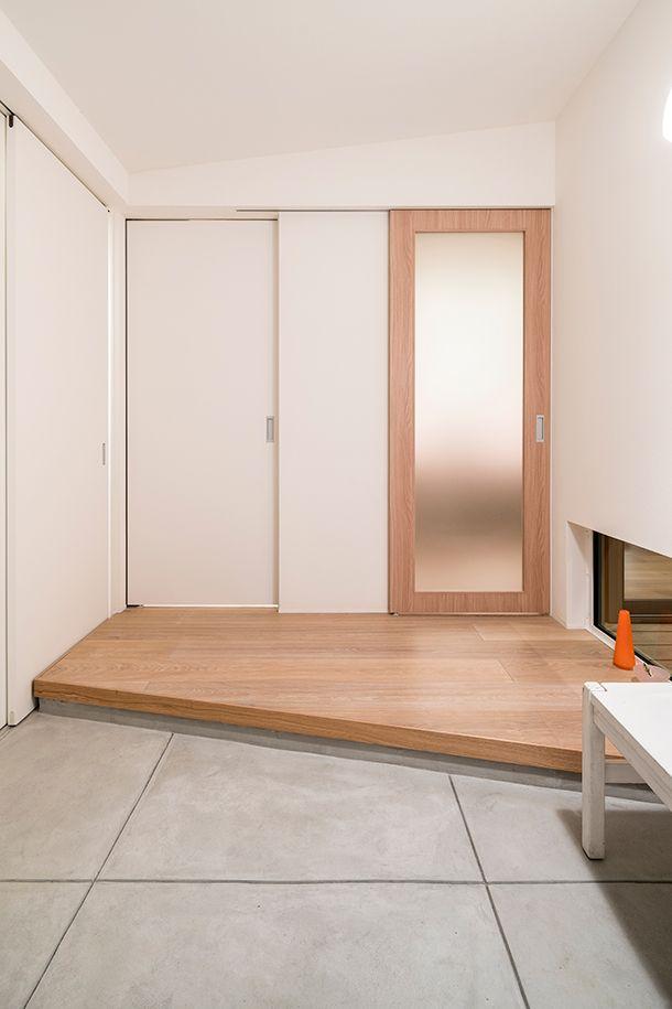ma 注文住宅なら建築設計事務所 フリーダムアーキテクツデザイン 住宅 家 リビング ドア 引き戸