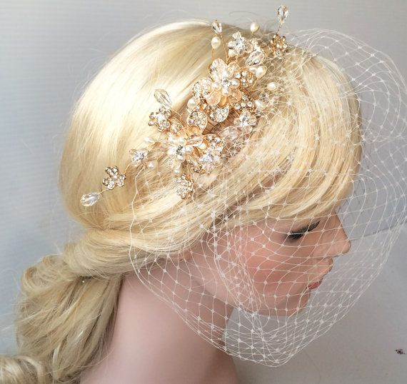 Best 25 Wedding Birdcage Veils Ideas On Pinterest