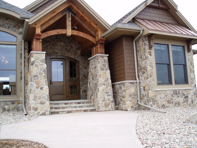 17 best images about home exterior on pinterest house for Exterior natural stone for houses