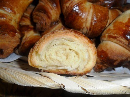 Croissant fatti in casa #ricette