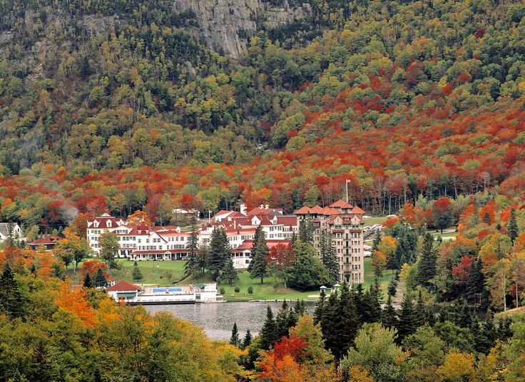 Every presidential election, the residents gather at The Balsams Grand Resort Hotel to cast their ballots at midnight.  - GoodHousekeeping.com