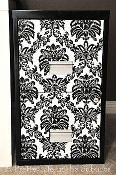 Filing Cabinet Makeovers :: Jenny @ The NY Melrose Family's clipboard on Hometalk :: Hometalk