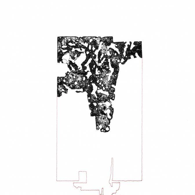 Scintillement II. est une gravure de León Garreaud de Mainvilliers, à découvrir en vidéo sur notre galerie en ligne, dans le cadre de l'exposition Mémoires Visuelles