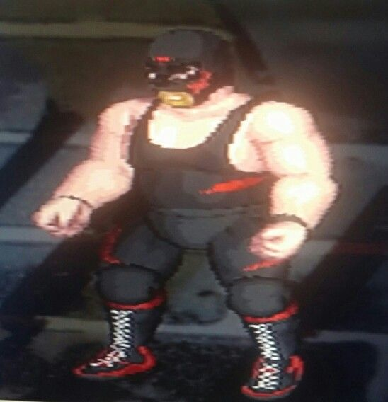 Big Van Vader Fire Pro Wrestling Returns Ps2 Edit