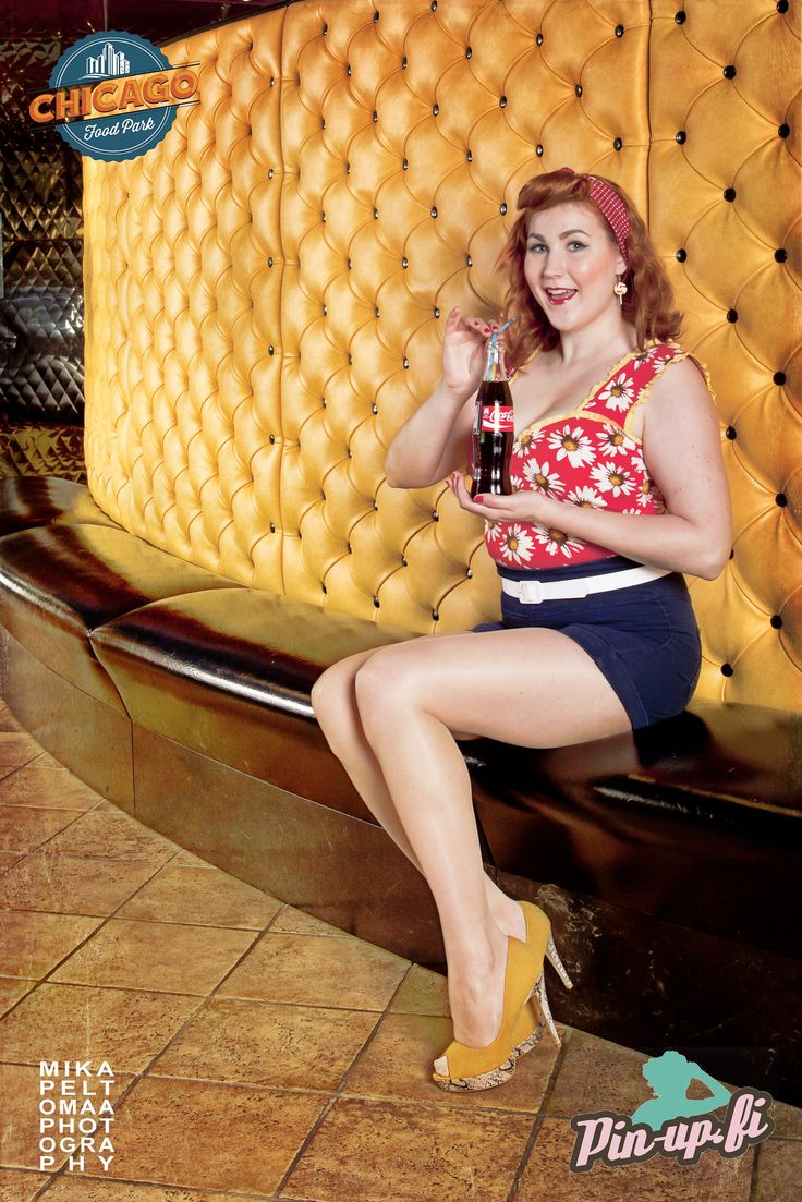 www.pin-up.fi Photographer: Mika Peltomaa Photography MUAH: me, myself and I Place: Chicago Food Park.