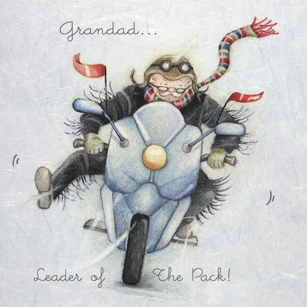 Cards » Grandad » Grandad - Berni Parker Designs