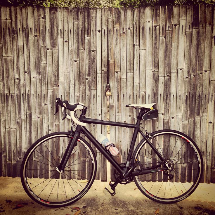 My #Colnago Ace with bamboo door #bike #aom_oramas #instagram #riding