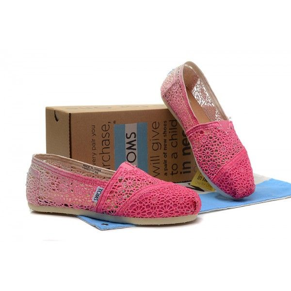 Asymptotic Rosy Crochet Womens Classics