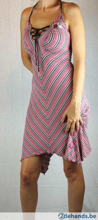 Gestreepte jurk van Vive maria - Maat medium