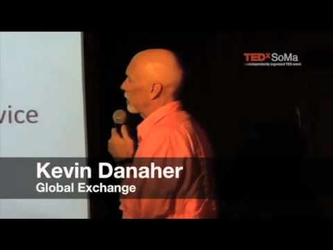 Kevin D at TEDx speaks on sustainable development