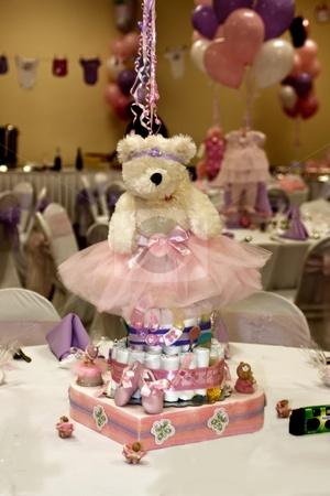 Girl Baby Shower Centerpiece: Tutu Baby Shower, Centerpieces Baby Showers, Baby Outfits, Babyshower Ideas, Teddy Bears, Baby Shower Centerpieces, Picnics Babyshower, Baby Girls, Girls Baby Shower